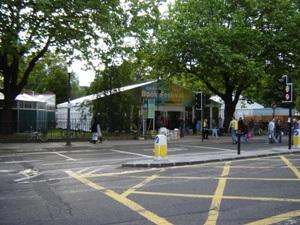 Book Festival Entrance (Charlotte Sq.)